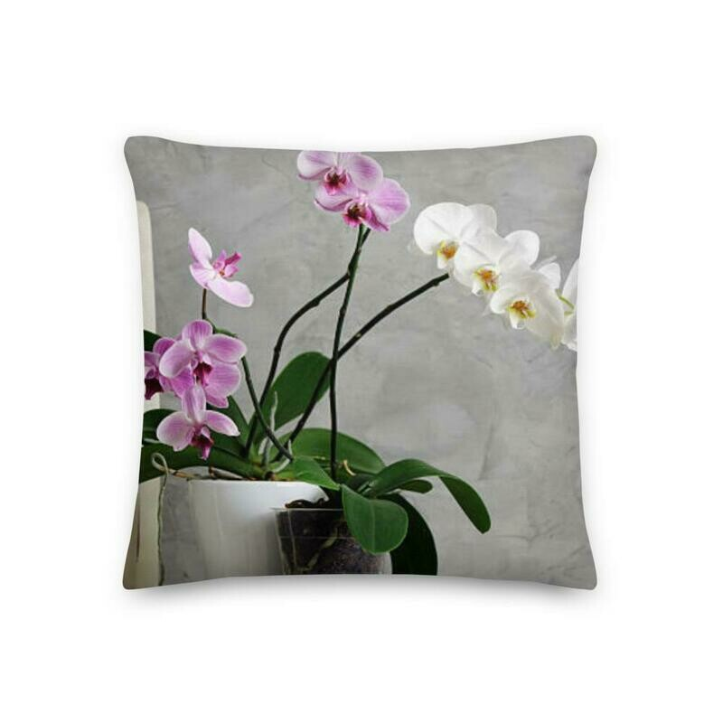 Palace Orchid Window Box Pillow