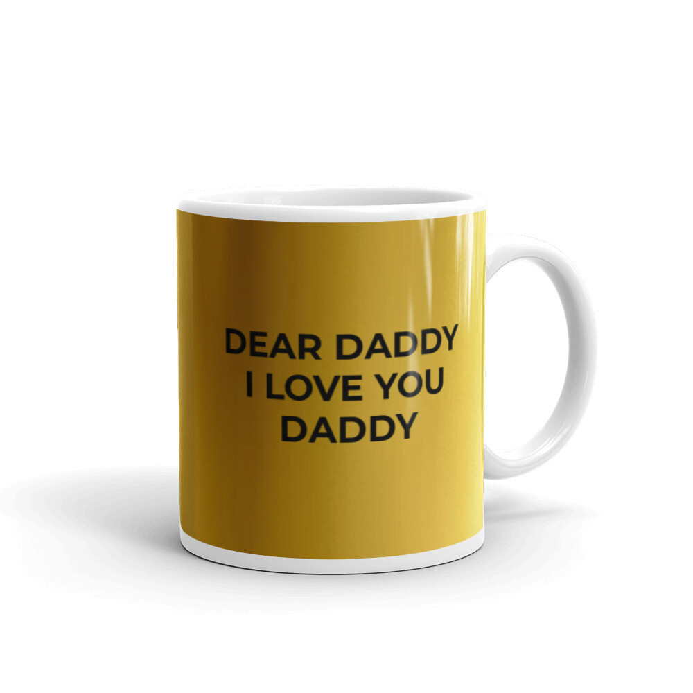 i LOVE YOU DADDY MUG