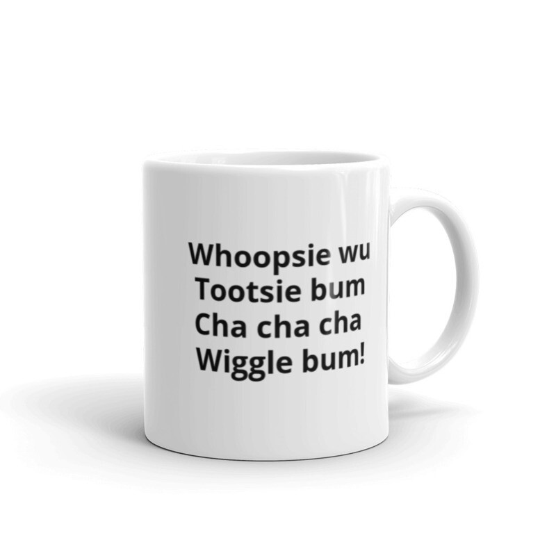 Wiggle Bum Mug