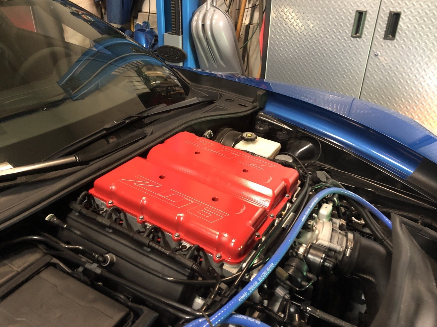 C7 Z06 Supercharger Cover