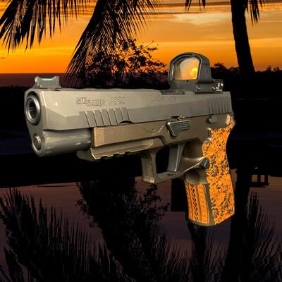 SOLD Tropic Thunder Custom Laser Engraved X-Carry