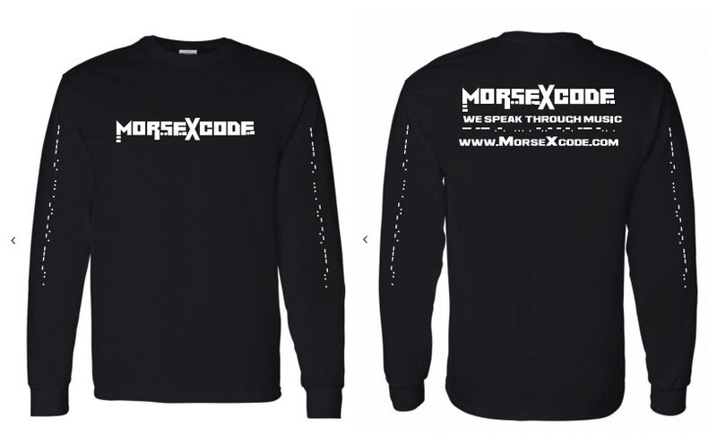 Morse X Code Long Sleeve (Free Express Shipping)