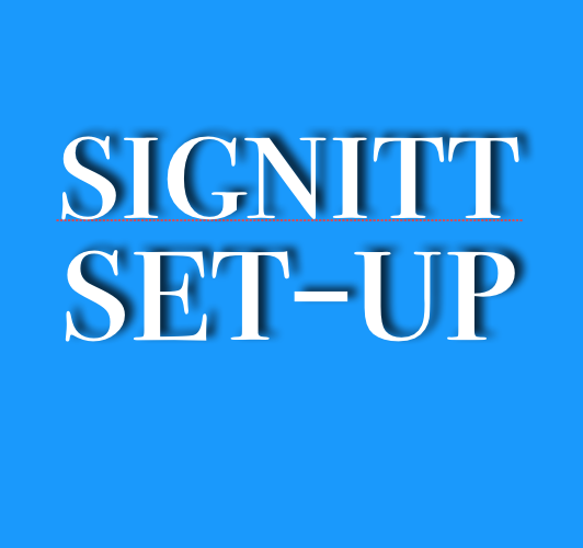 Set-Up with a success manager