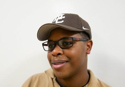 Brown Nike Hat