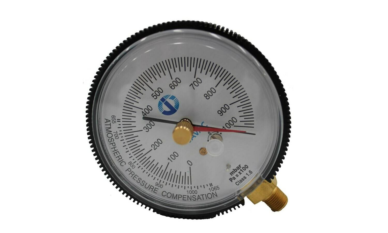80mm Dial Gauge (NPT)