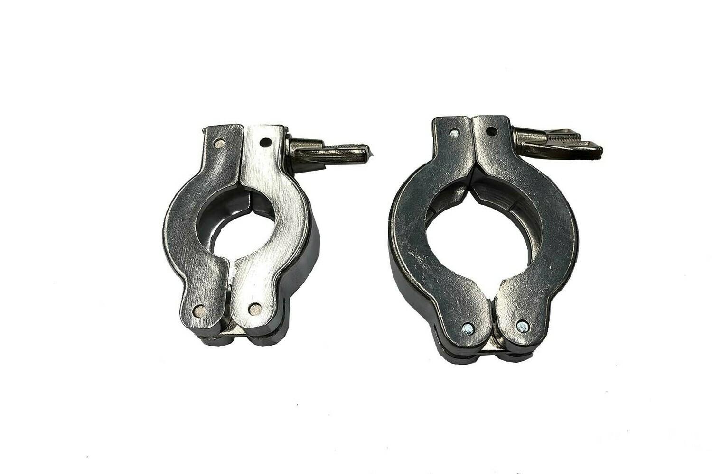 KF10 - KF25 Aluminium Clamp Ring with Wingnut