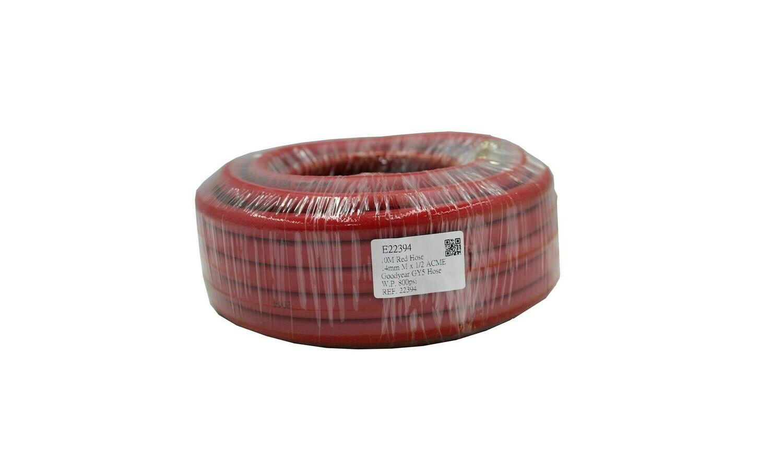 10m Refrigeration Hose RED
