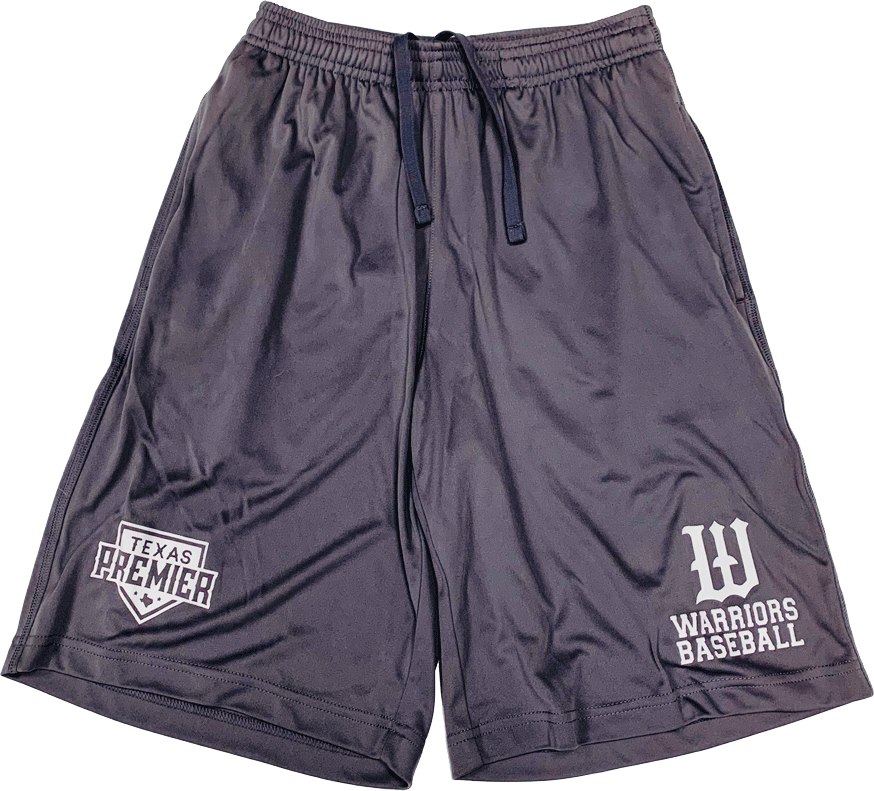 Gray Player's Practice Shorts
