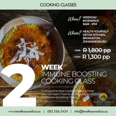 2-Week Immune Boosting Cooking Class