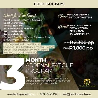 3-Month Adrenal Fatigue Program