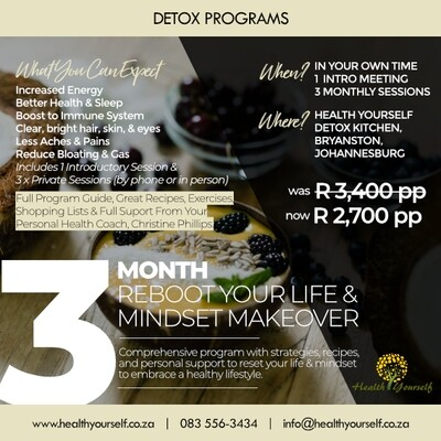 3-Month Reboot Your Life & Mindset Makeover