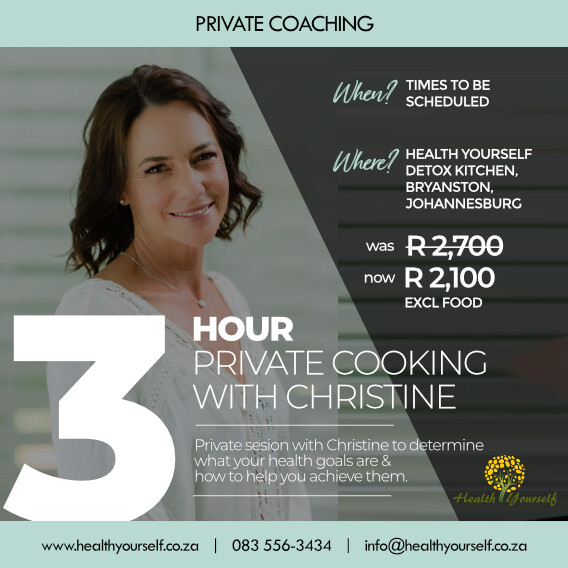 3-Hour Private Cooking With Christine