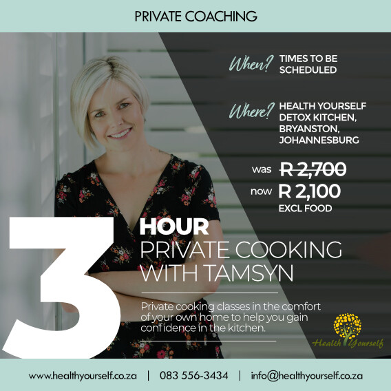 3-Hour Private Cooking with Tamsyn
