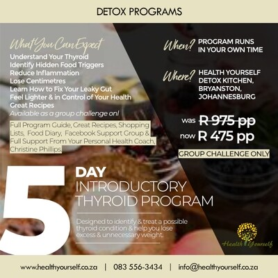 5-Day Introductory Thyroid Program (Group Challenge Only)