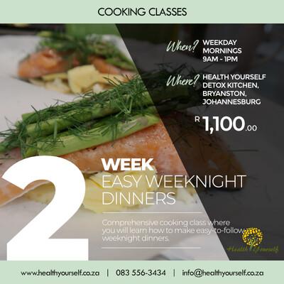 2-Week Easy Weeknight Dinners