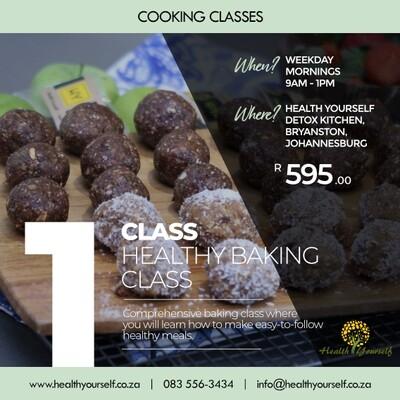 1-Class Healthy Baking Class