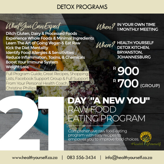 21-Day A New You Raw Food Eating Program