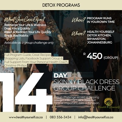 14-Day Skinny Black Dress Challenge