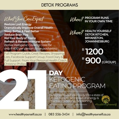 21-Day Ketogenic Eating Program