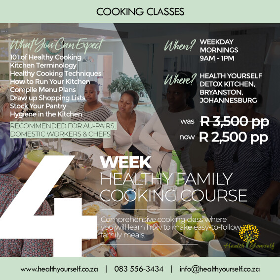 4-Week Healthy Family Cooking Class