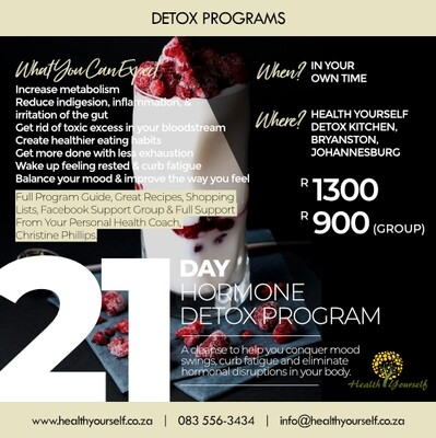 21-Day Hormonal Detox Program