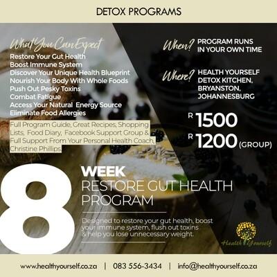 8-Week Restore Gut Health Program