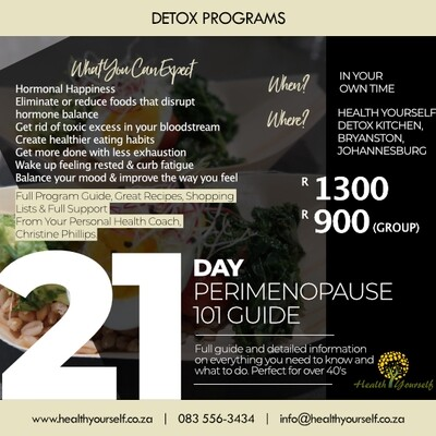21-Day Perimenopause 101 Guide