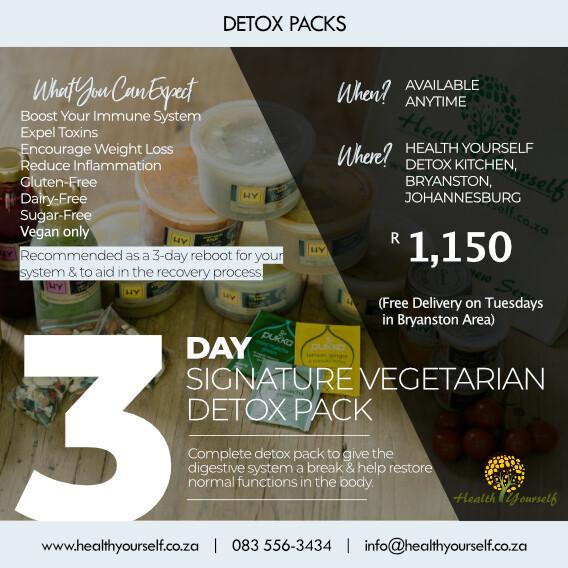 #Trending | 3-Day Signature Vegetarian Detox Pack