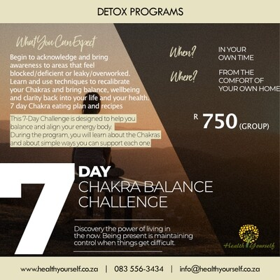 7-Day Chakra Balance Challenge