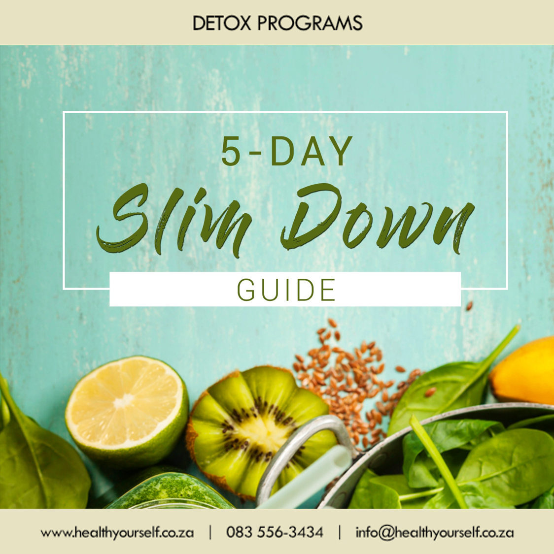 "5-Day ""Slim Down Challenge"""