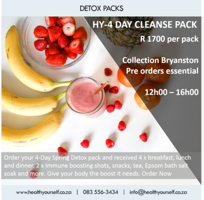 #Trending | 4-Day Spring Detox Packs