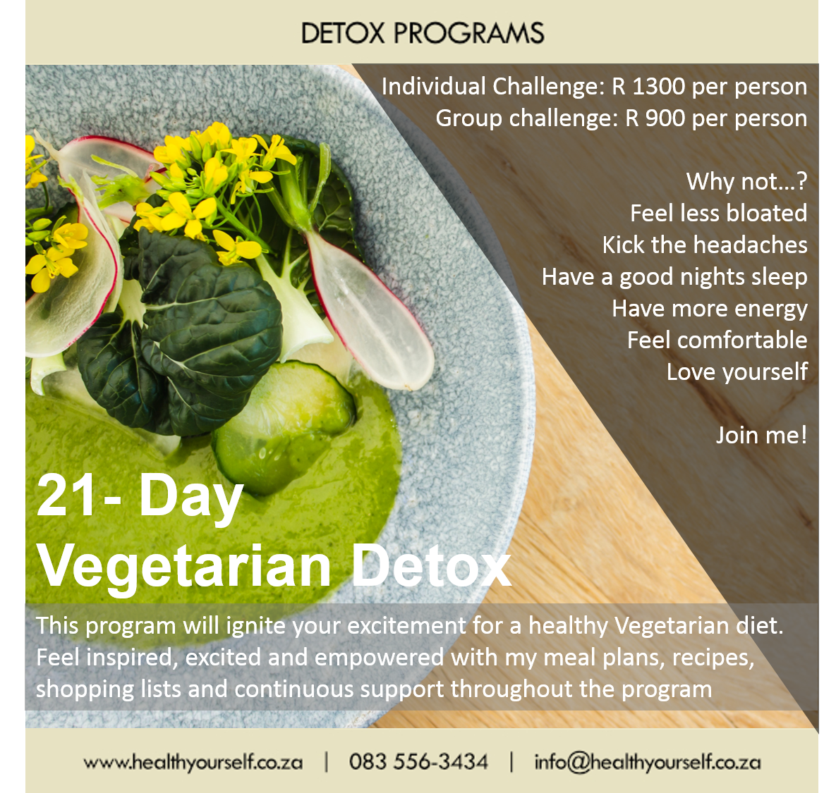 #Trending   21-Day Vegetarian Program