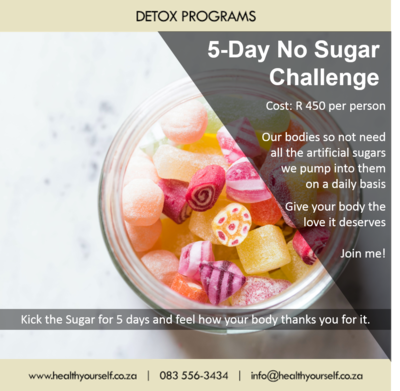 5-Day No Sugar Challenge