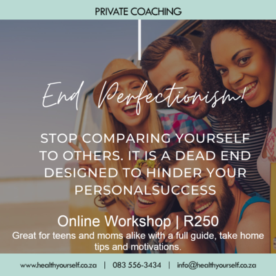 End Perfectionism NOW workshop