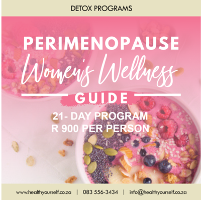 #21-Day Perimenopause Program 19th July and 2nd August
