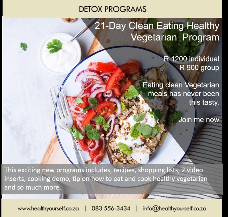 21-Day Clean Eating Vegetarian Program