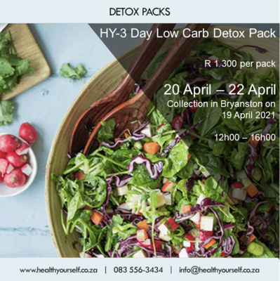 HY-3 Day Low Carb Detox Pack