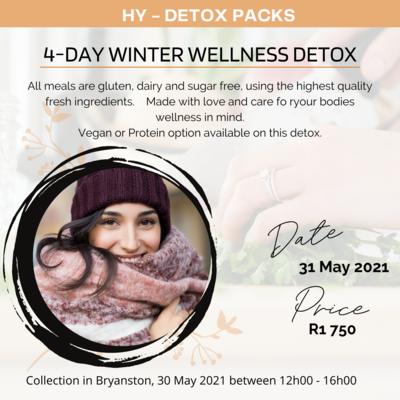 4-DAY WINTER WELLNESS DETOX