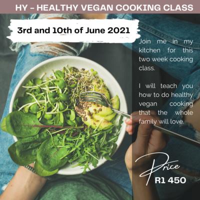 HEALTHY VEGAN COOKING CLASS