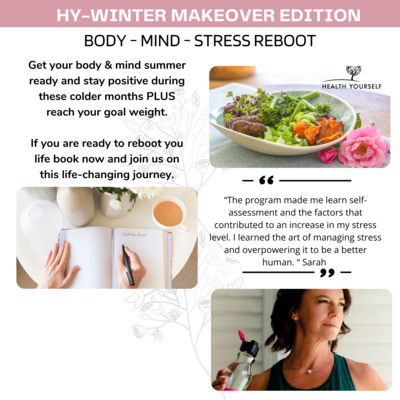 #3-Month Body-Mind-Stress Reboot Program 2 August - 2 November 2021