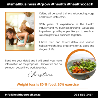#REBOUND, YOGA, PILATES AND PERSONAL TRAINERS