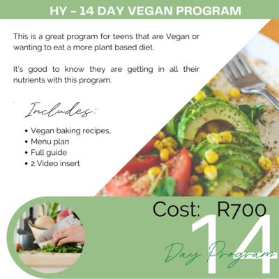 #14-Day Vegan Program PROGRAMS FOR JULY 2021