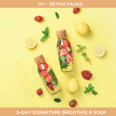 3-Day Signature Smoothie and Soup Detox