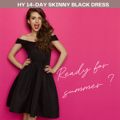 #14-DAY SKINNY BLACK DRESS CHALLENGE 8 NOVEMBER 2021