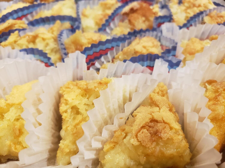 PIE BARS ( Coconut, Pecan, or Lemon)