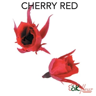 Micro Rose / Cherry Red
