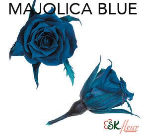 Micro Rose / Majolica Blue