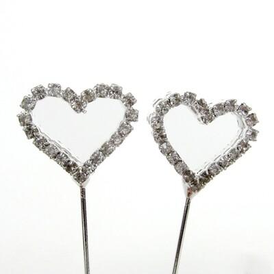 Design Picks / Double Heart Clip