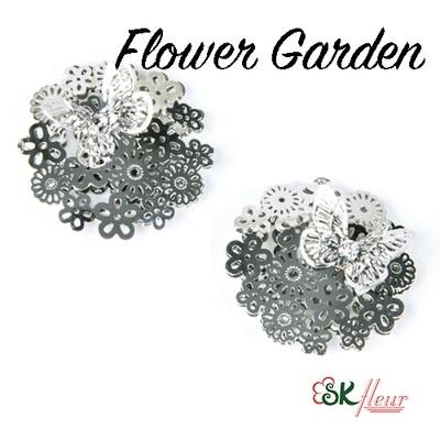 3D Charms / Flower Garden