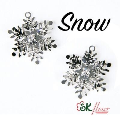 3D Charms / Snow